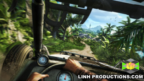 Xe buggy trong Farcry 3