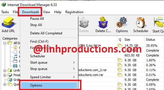 DOWNLOAD GOOGLE DRIVE FSHARE YOUTUBE WITH IDM