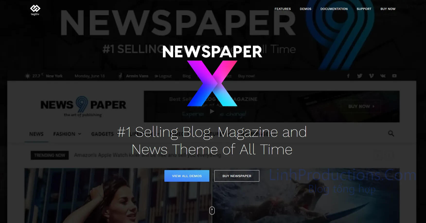Newspaper 10 theme free download