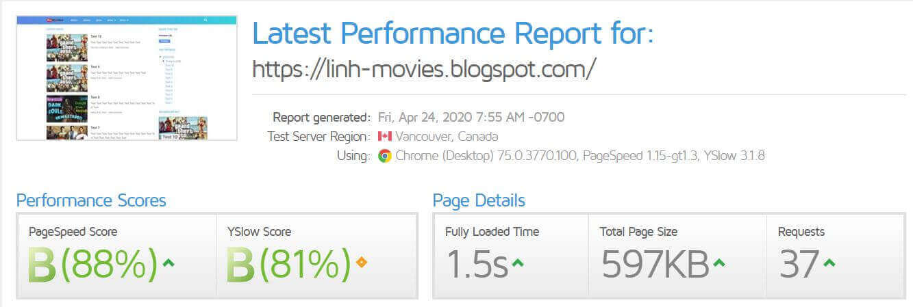 Template Linh Heo Blogspot load nhanh
