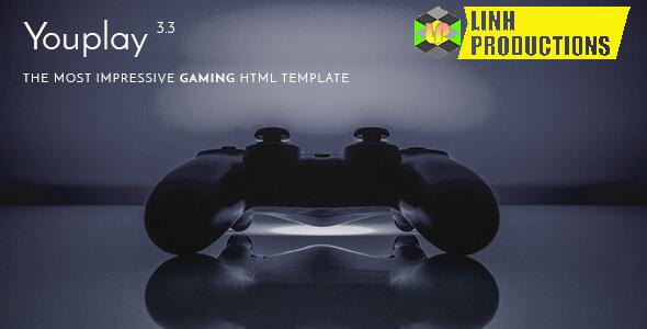 GET Youplay - Gaming WordPress Theme