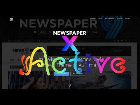 Active theme newspaper v10 v10.2 v10.3