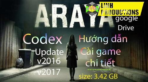 Araya CODEX Google Drive cho PC