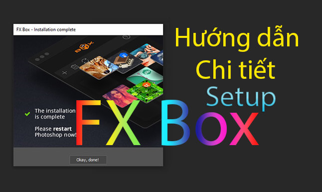 Tải FX BOX cho photoshop - FX BOX v1.2 cho photoshop CC