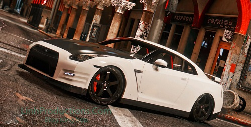 Hướng dẫn mod Nissan GTR R35 GTA 5