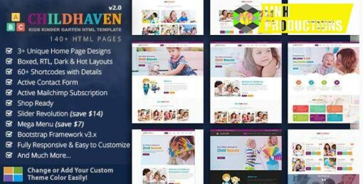 Child Haven Education HTML