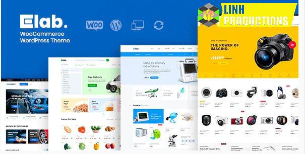 ELAB - WOOCOMMERCE MARKETPLACE WORDPRESS THEME