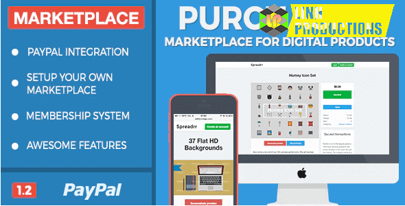 Purchasify - Marketplace for Digital Products Not Nulled