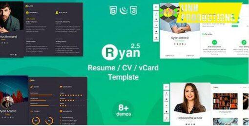 Ryan - CV Resume Template