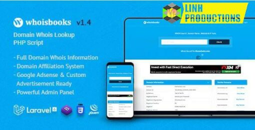 WhoisBooks   Domain Whois Lookup PHP Script
