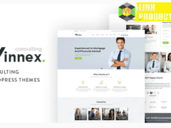 Winnex - Business Consulting WordPress Themes not nulled