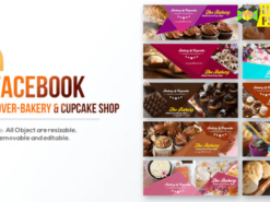 10 Facebook Cover-Bakery and Cupcake Shop