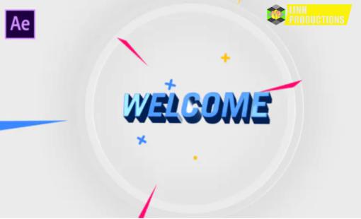3D Logo Intro Youtube