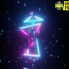 80s Retro Vaporwave Statue And Neon Light 4K