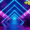 Abstract Neon Light Background