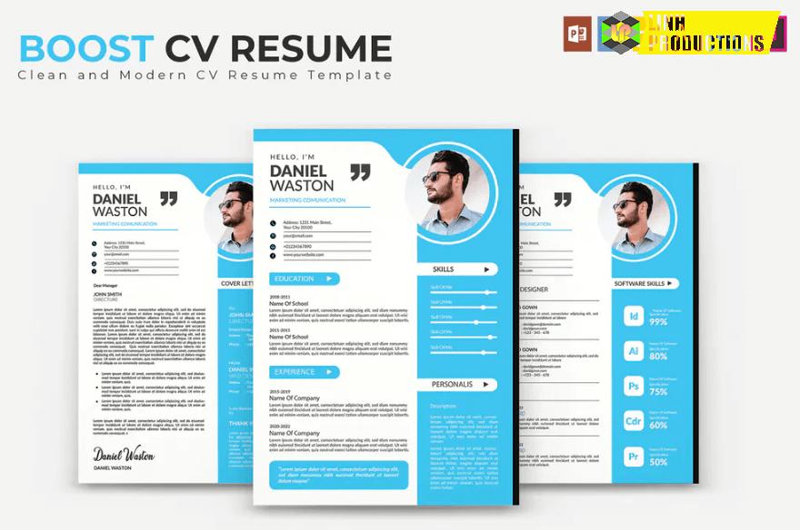 Boost CV Resume Template