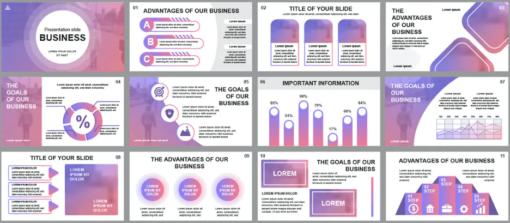Business Powerpoint Slide Templates