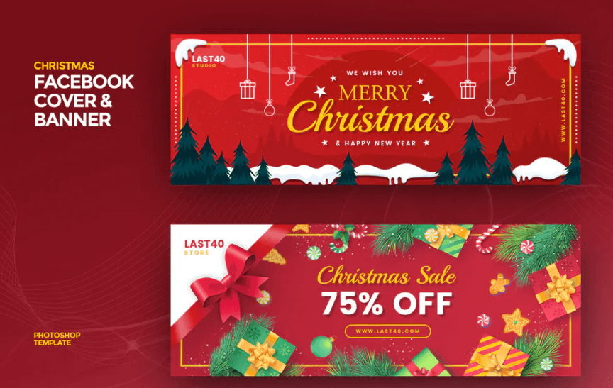 Christmas Facebook Cover Banner