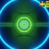 Circles Neon Tunnel 4K