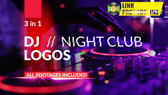DJ Night Club Logos