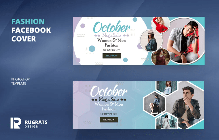 Fashion R3 Facebook Cover Template