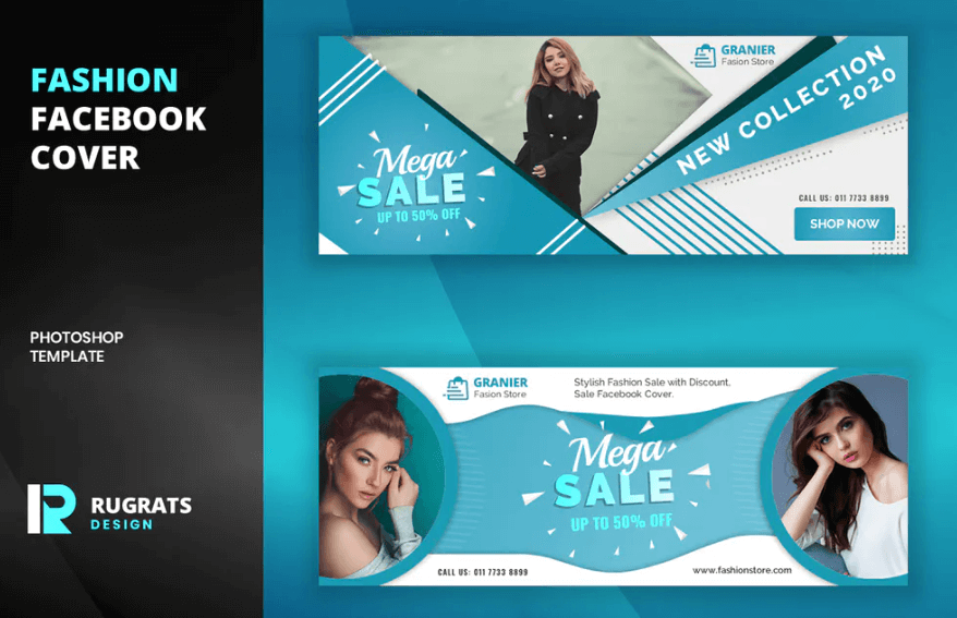 Fashion R7 Facebook Cover Template