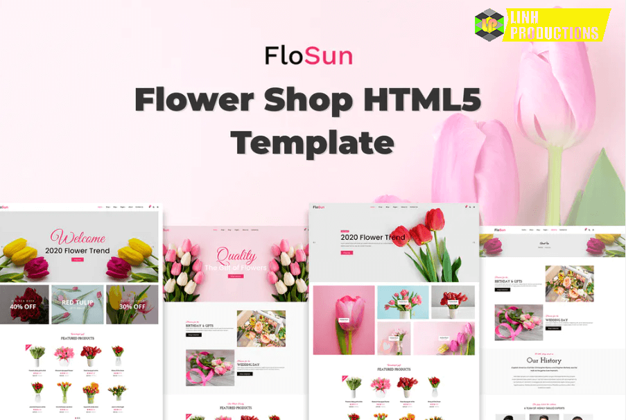 FloSun - Flower Shop HTML5 Template