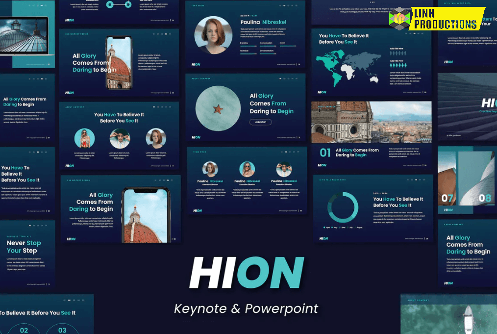 HION - Powerpoint & Keynote Template - Slidewerk