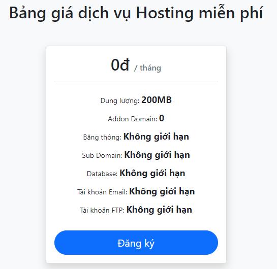 Hosting mien phi