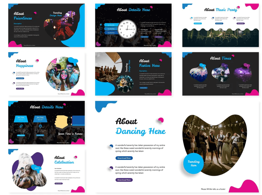 Hype Powerpoint Template