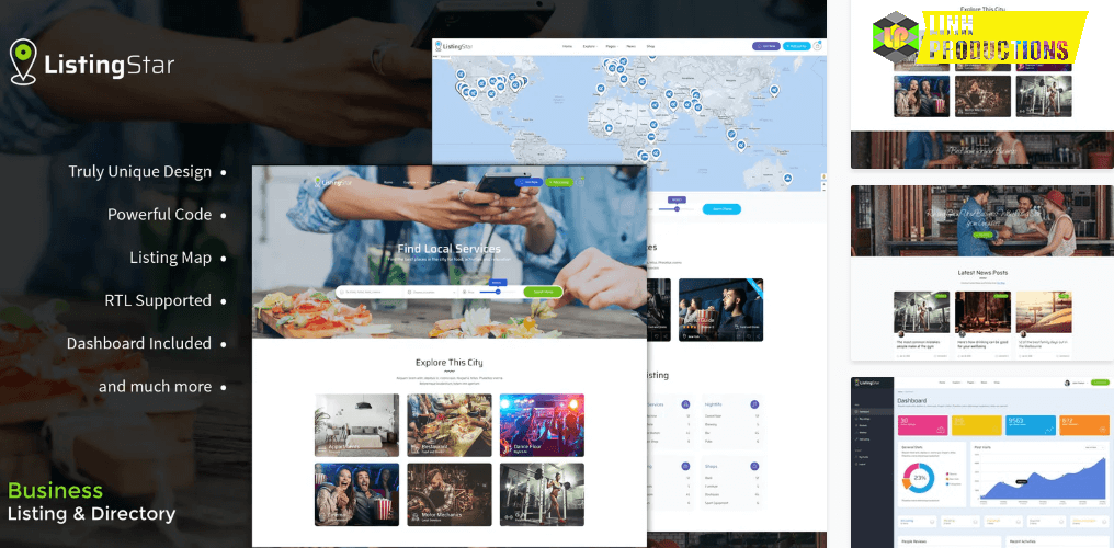 Listingstar - Directory & Listings HTML Template