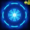 Neon Circles Background
