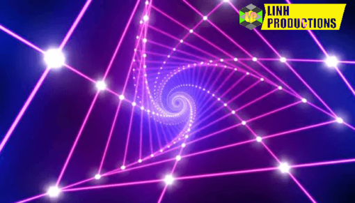 Neon Light VJ Loop 4K 04