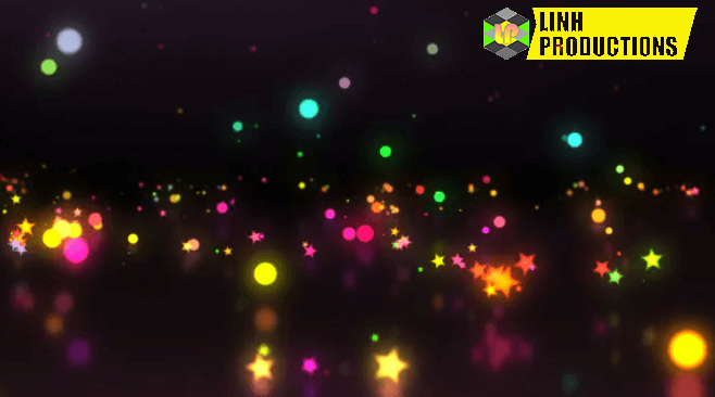 Particles Bounce Background