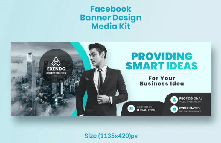 Promotional Facebook Business Banner Design