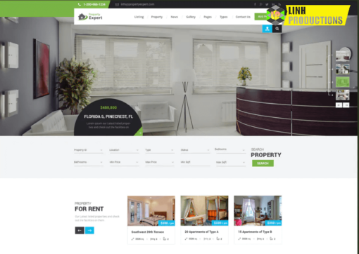 PROPERTY EXPERT - REAL ESTATE HTML TEMPLATE