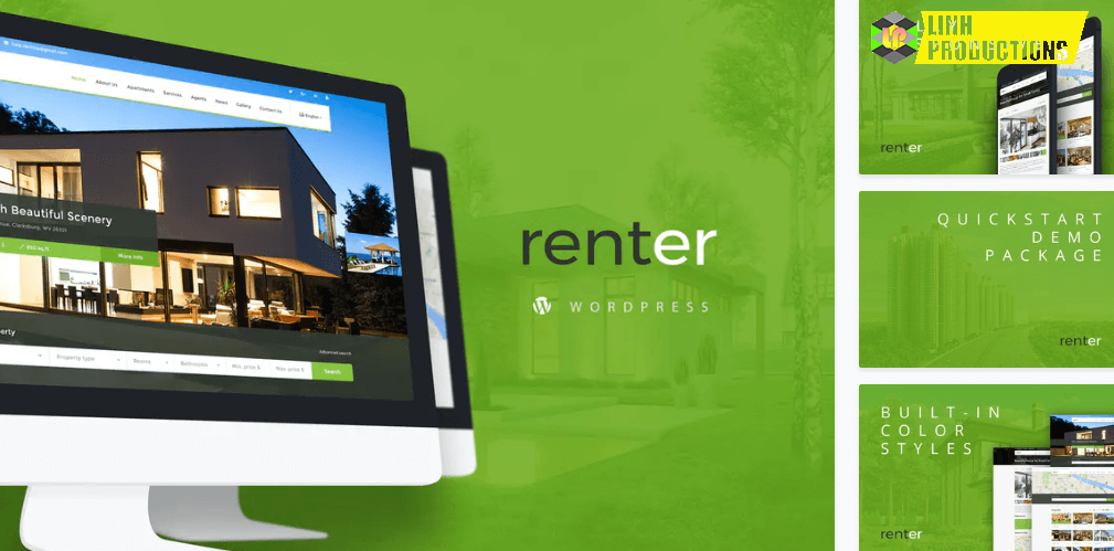 Renter Property Rent Sale Real Estate Wordpress