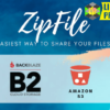 ZipFile : File sharing made easy & profitable. Use Google Drive, S3 and Backblaze to host files