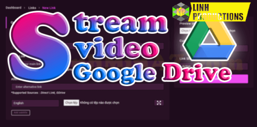 CODE STREAM VIDEO GOOGLE DRIVE