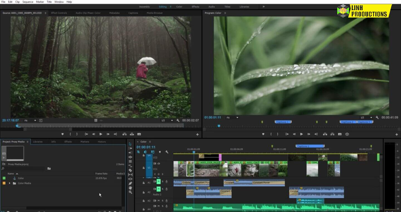 linhminaz.com Adobe Premiere Pro CC 20211
